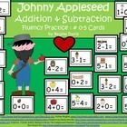 $ - Here are 42 math cards containing addition and subtraction practice with a Johnny Appleseed theme for September.    Print onto card stock and cut o...