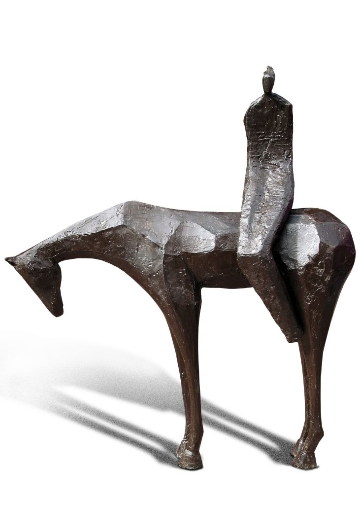 JD Hansen - Best of Show | From a unique collection of figurative sculptures at http://www.1stdibs.com/art/sculptures/figurative-sculptures/