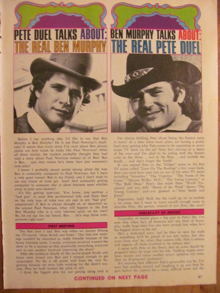 pete duel and ben murphy relationship questions
