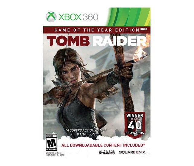 Tomb Raider: Game of the Year Edition - Xbox 360 - Larger Front