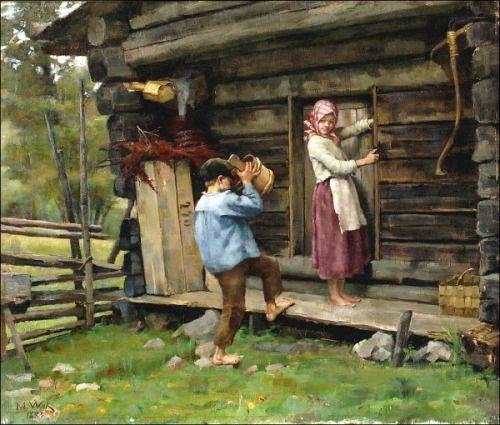 FROM HAME / HÄMEESTÄ - Maria Wiik (1853 – 1928, Finnish)