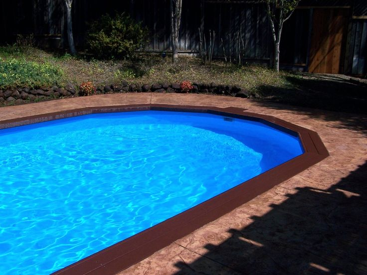 17 best images about pool possibilities on pinterest for Best looking above ground pools