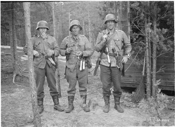 Finnish patrolmen, 7 July 1941.