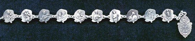 Sisters of Carmel - Patron Saint Rose Rosary Bracelet, $199.95 (http://www.sistersofcarmel.com/patron-saint-rose-rosary-bracelet/)