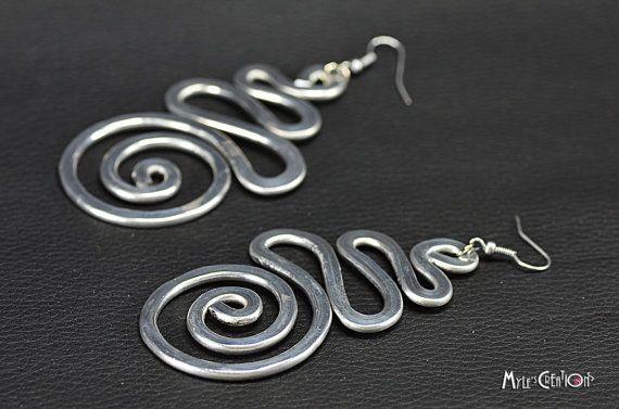 Orecchini in Alluminio OW003 di MylesCreations su Etsy, €15.00