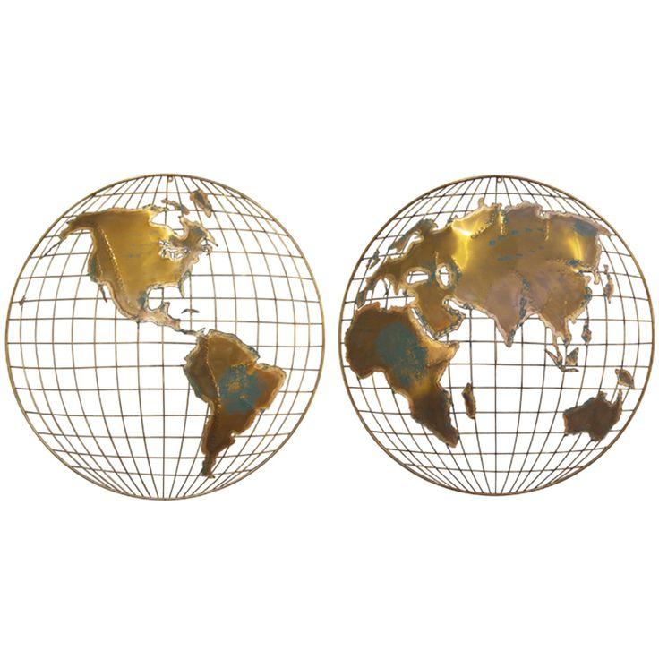 "Curtis Jere | Curtis Jere ""World "" map Sculpture at 1stdibs"