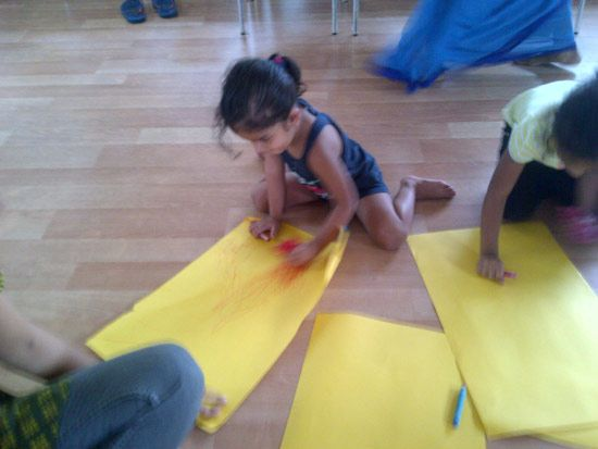 Oi Play School is one of the Fastest growing playschool network in India.Play school activities like artomanial_Launch events photos. For any queries call:::1800-200-8171 http://www.oiplayschool.com