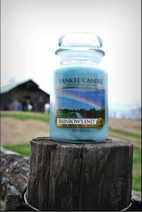 Rainbows end. My fav Yankee candle that is discontinued :(