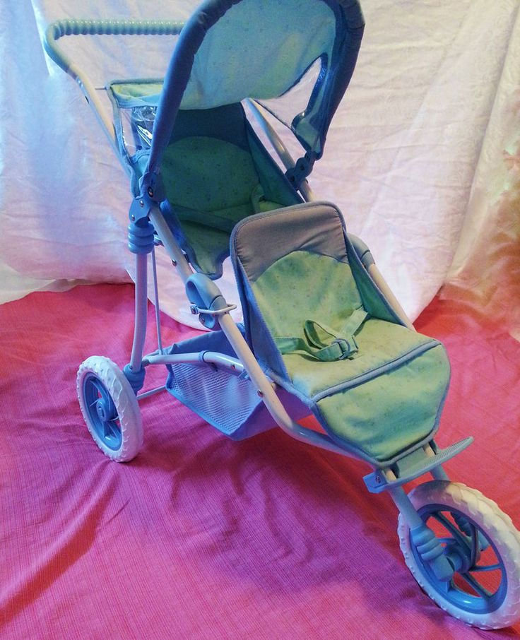 American Girl Bitty Twins Bitty Baby Stroller Collapsible