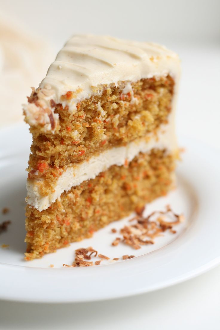 Carrot Cake with Brown Butter Cream Cheese Frosting ...