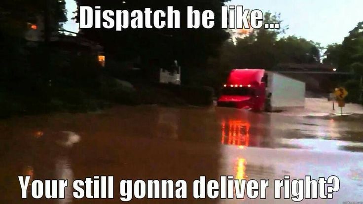 Dispatchers be like | Trucking Humor | Truck memes ...