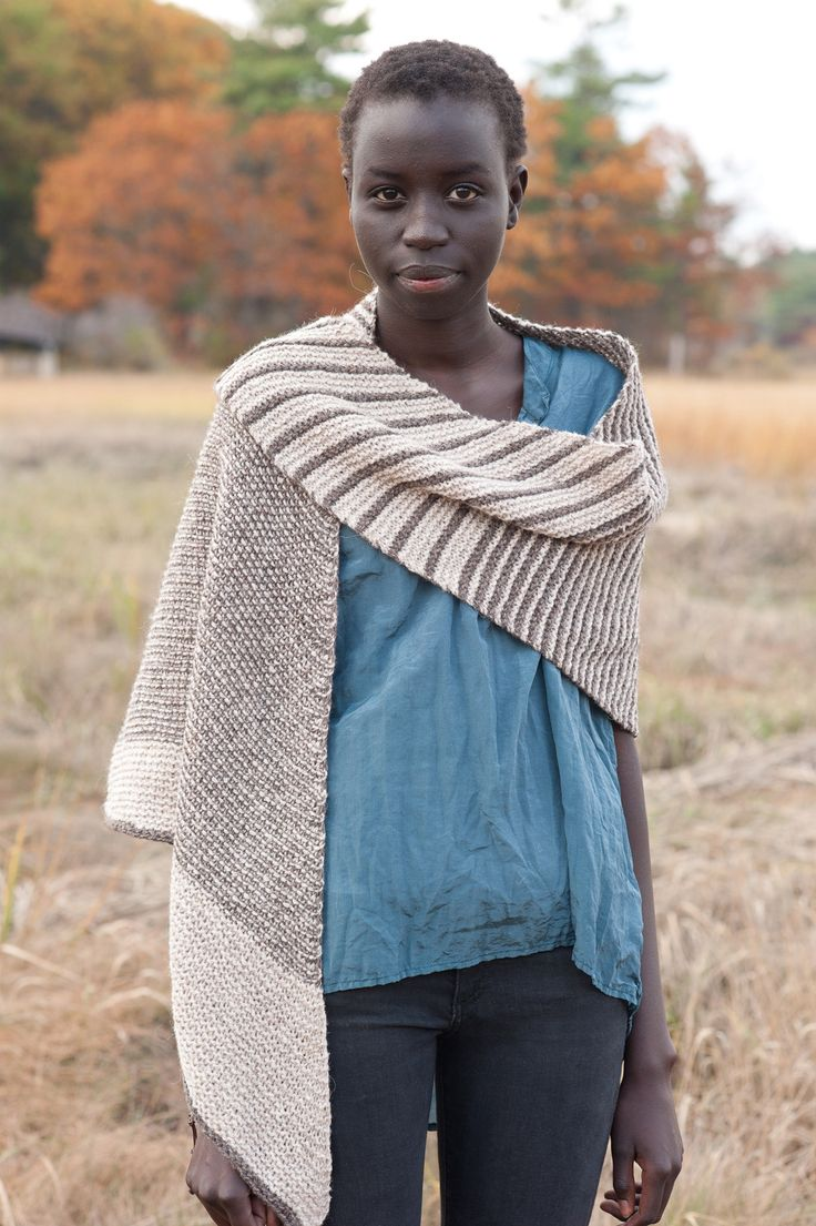 rikochan by melanie berg / quince & co owl in abyssinian and papuan