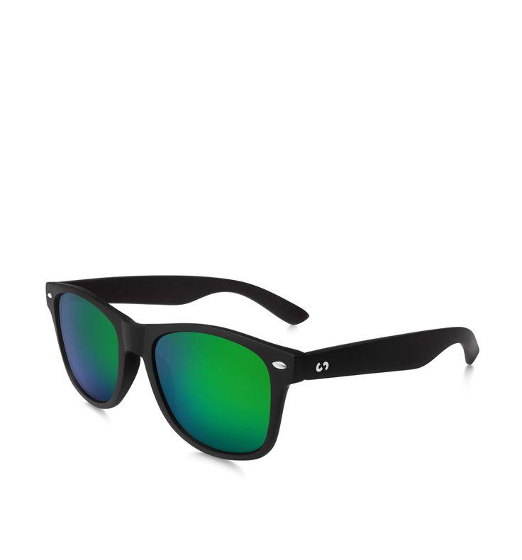 SLASH E POLAR -  Occhiali da sole slang neri e verdi