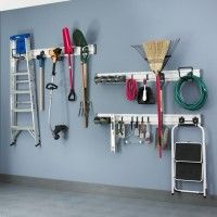 Gladiator Garageworks Large Storage Wall Set. Have a large storage problem in your garage? Then the Large Storage wal
