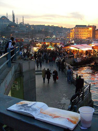 Eminönü, Istanbul, Turkey  - Explore the World with Travel Nerd Nici, one Country at a Time. http://travelnerdnici.com/