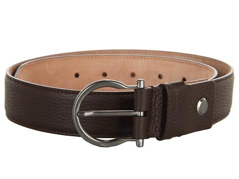 Salvatore Ferragamo Gancio Buckle Adjustable Belt (678991) - Curele - Accesorii - Barbati - Magazin Online Accesorii