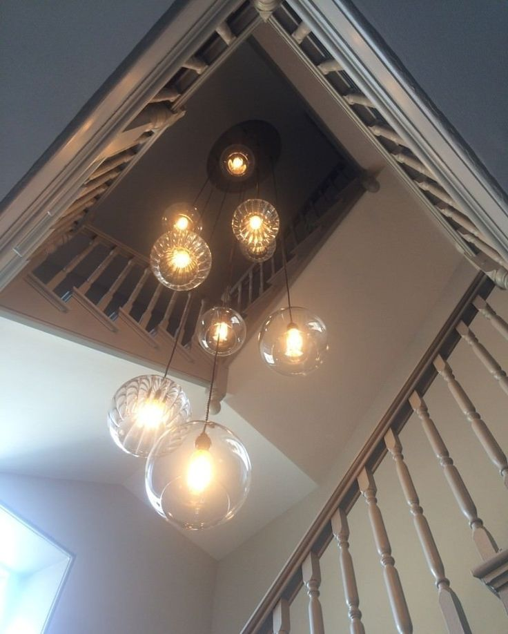 Crystal Chandelier Edmonton: 49 Best Double Height Staircase Lighting Images On