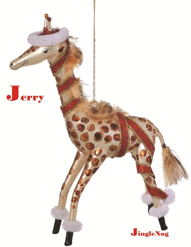 72 best giraffe christmas oranments images on Pinterest ...