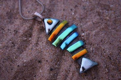 Fused Glass Designs: Making Fused Glass Jewelry