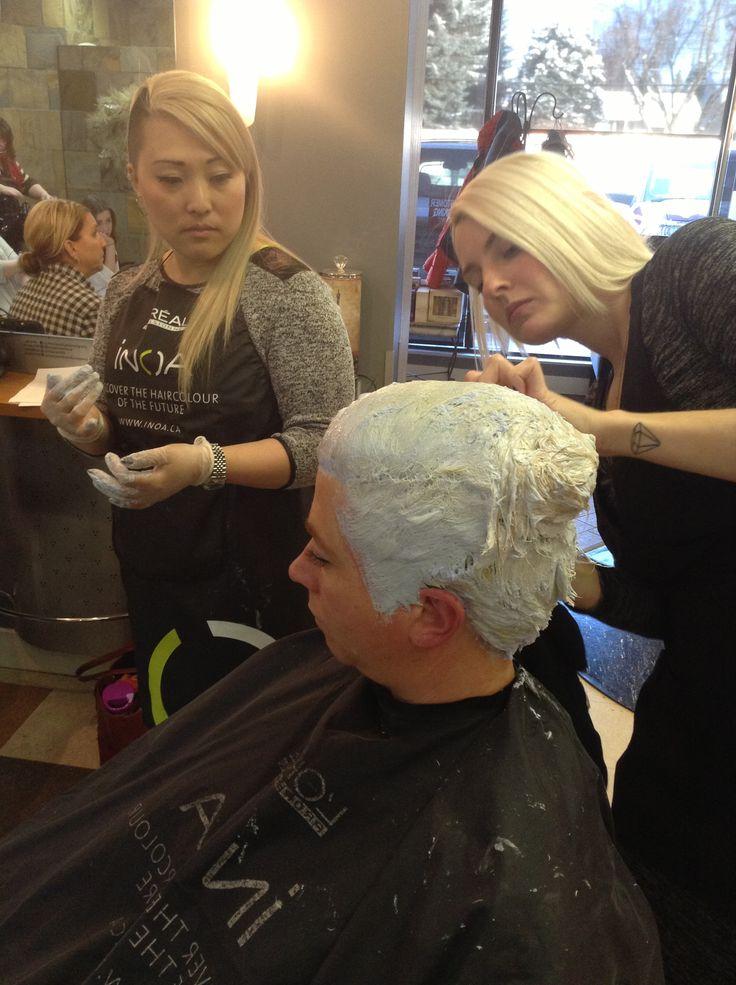 Blending class Hair color for women Bleached hair
