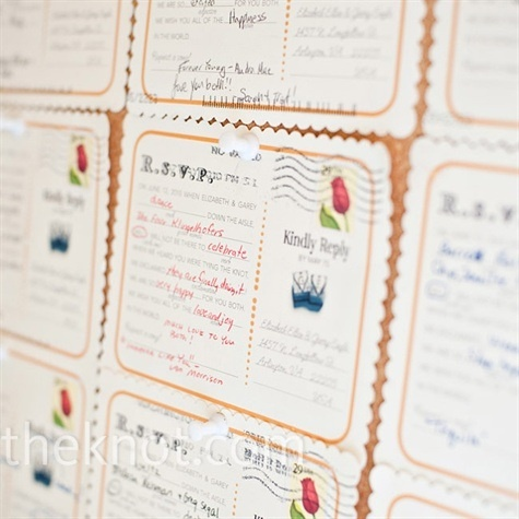 Mad Lib Rsvp Postcards How Clever Display Your Favorite Responses At The Wedding