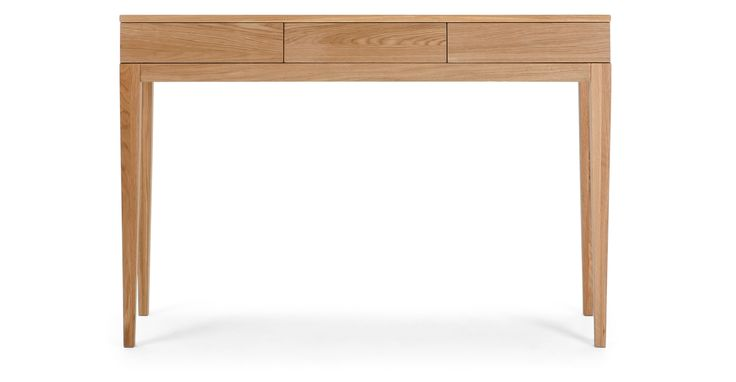 Vernay Console Desk, Oak