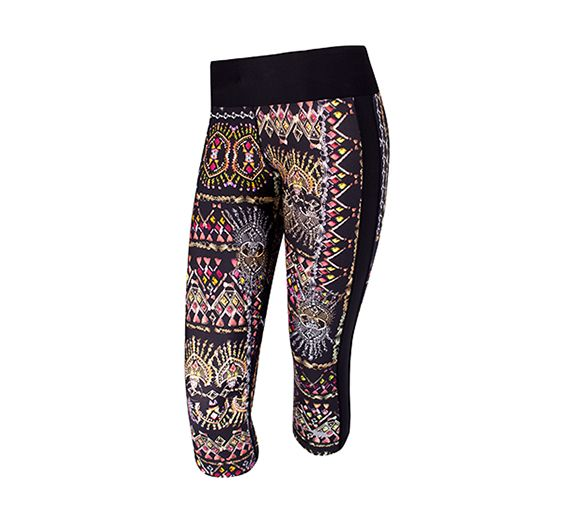 The funky Running Bare Street Styler 3/4 Tight, perfect for adding a pop of pattern to your workout! Shop online at onsport.com.au.