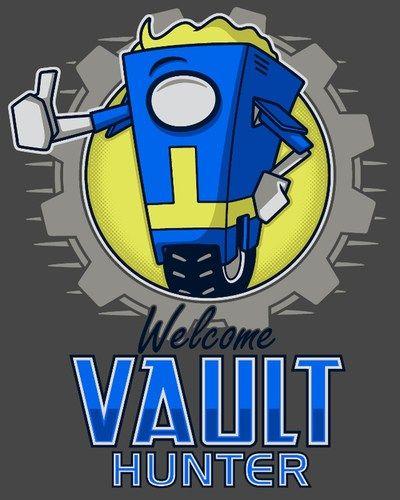Pfftftftftft!!! WTF?!?!?!?! O:O!!! jajajajajaj!!!! Borderlands/Fallout crossover.