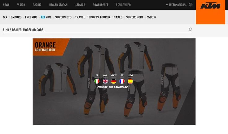 Customise IT! Customised KTM Leather Combi by Gimoto Available Online - http://superbike-news.co.uk/wordpress/customise-customised-ktm-leather-combi-gimoto-available-online/
