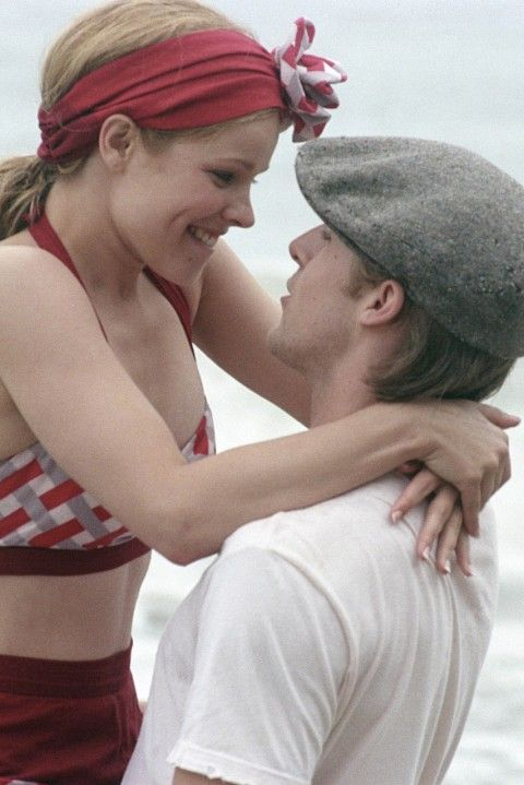 The Notebook's Allie and Noah played by Raclhel McAdams and Ryan Gosling