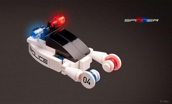 Des mini véhicules Batman en LEGOs