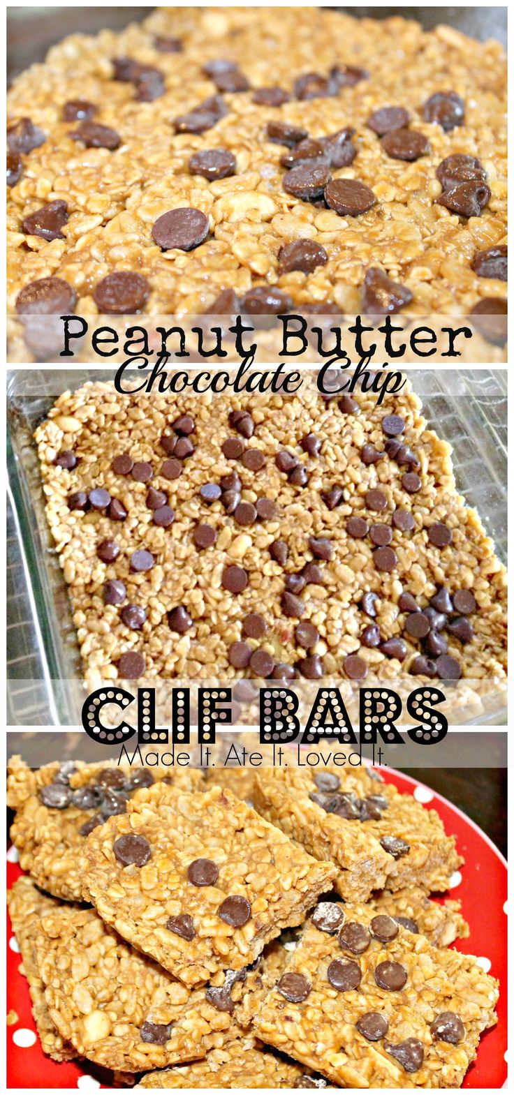 copycat clif bars (Peanut Butter Chocolate Bars)