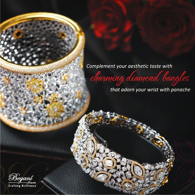 #beganijewels #begani_jewels #jewellery #jewelrygram #instajewelry #diamond #bling #fashionjewellery #fashionista #trendy #bangles #charming #accessories #brilliance Find them on www.beganijewels.com