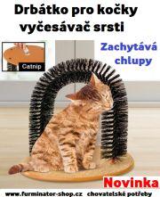 Drbátko pro kočky, vyčesávač srsti