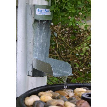 Unique Save the rain water that es from your gutters for use in your garden