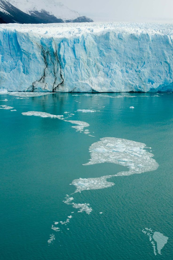 Perito moreno carte glace patagonie