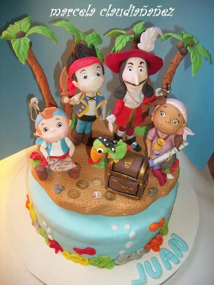 Cake Design Jake E Os Piratas : 108 best images about Fiesta pirata on Pinterest ...