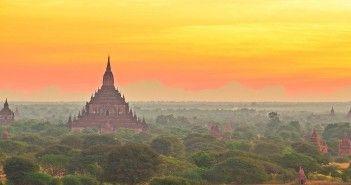 広大な平野に無数の仏塔が林立!ミャンマーの『バガン遺跡』