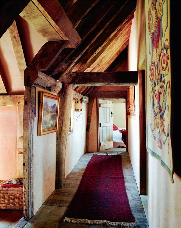 "Neat site featuring Period homes of all kinds- ""Corridor. A restored 14th C hall house in Suffolk"""