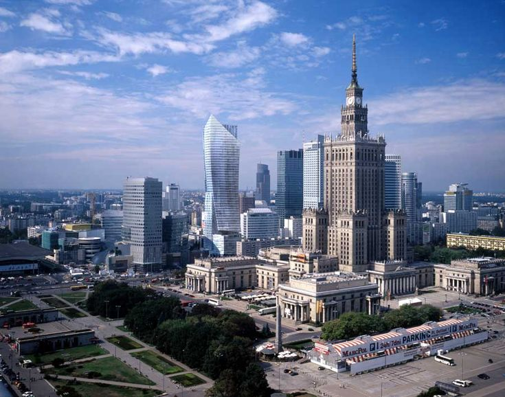 one of the most characteristic view in Warsaw