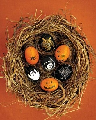 take a page out of the easter bunnys book with this eggcellent halloween craft for - Halloween Crafts For Adults