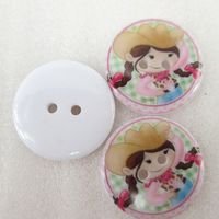25Y43289  22*22mm button high quality printed polyester ribbon 25 pieces, DIY handmade materials, wedding gift wrap