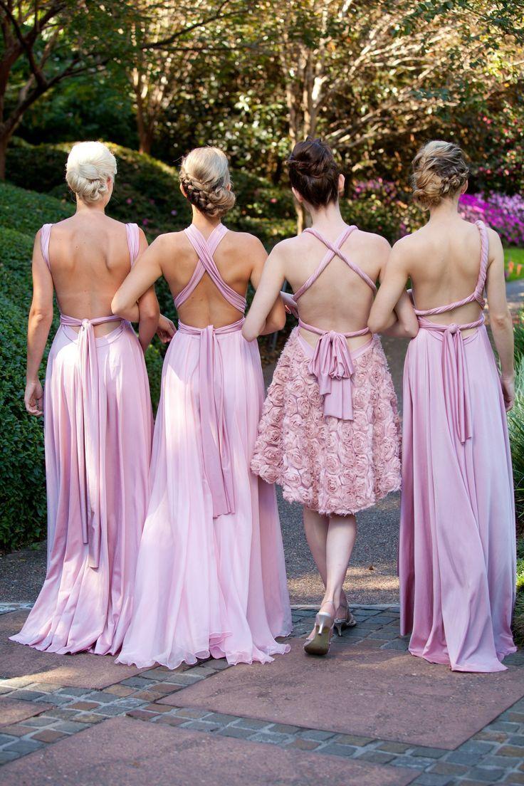 Multiway Bridesmaid Dresses Wedding Decor Pinterest