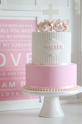Isabellas Christening - Couture Cupcakes & Cookies