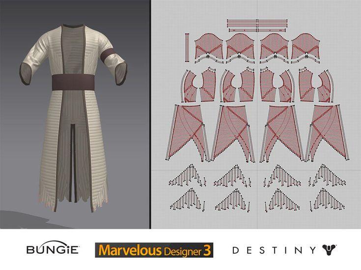 ArtStation - Destiny - House of Wolves - Warlock Kellbreaker Gear, Ian McIntosh