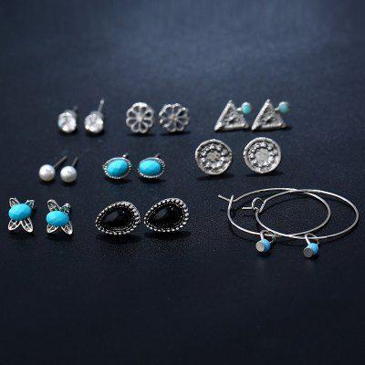 Faux Jewelry Geometric Earring Set
