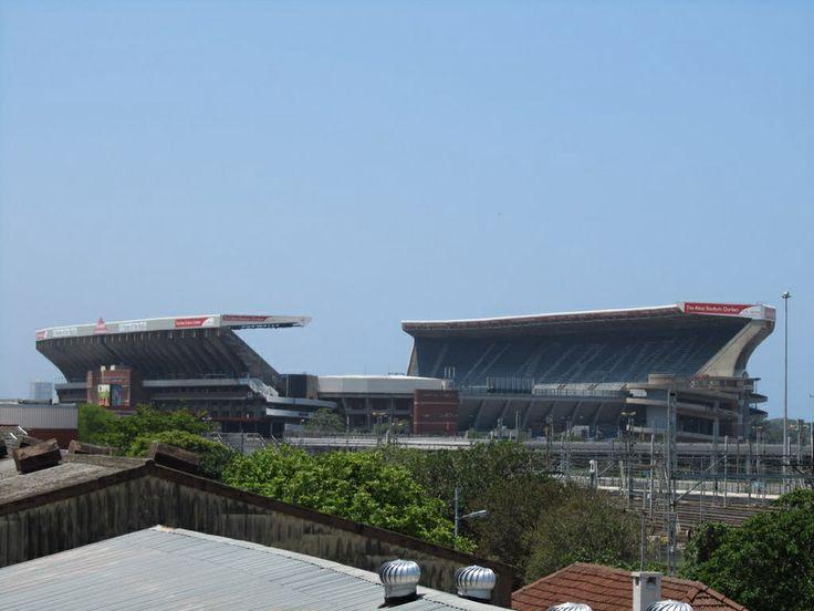 Kings Park Stadium - home of the (Natal) Sharks ...