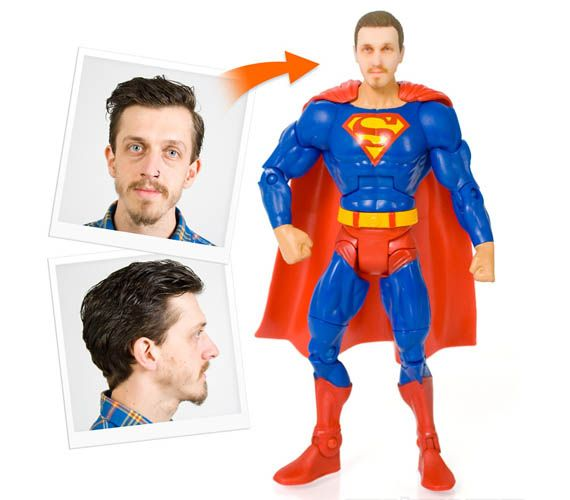 how cool! make yourself a superhero!