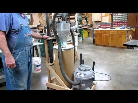 Portable Dust Collector - YouTube