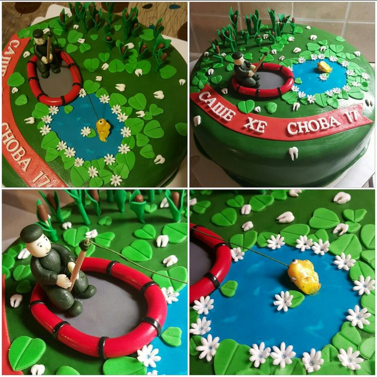 Торт для рыбака...
